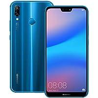 Huawei nova 3e (ANE-LX2J) 4GB / 64GB 5.84インチLTE SIMフリー [並行輸入品] (クラインブルー)