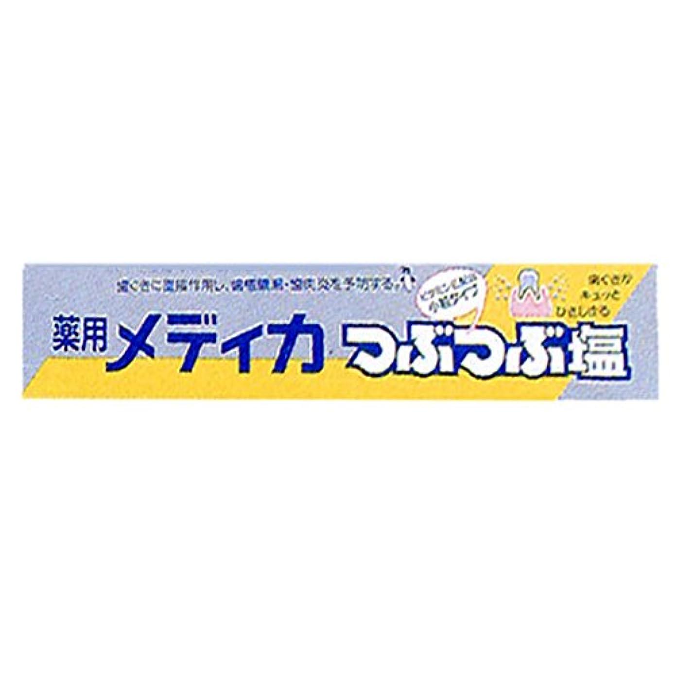 間欠有名人に対処する薬用メディカつぶつぶ塩 170g