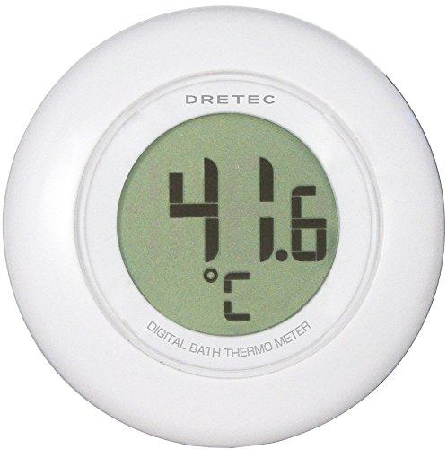 ドリテック デジタル湯温計 O-227 ホワイト(1台)
