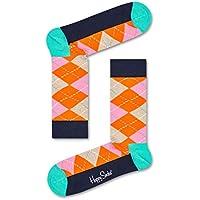 Happy Socks Men's Argyle Sock, Multicoloured, 36-41