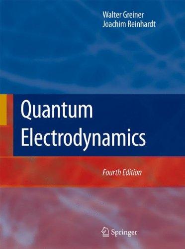Download Quantum Electrodynamics 3540875603