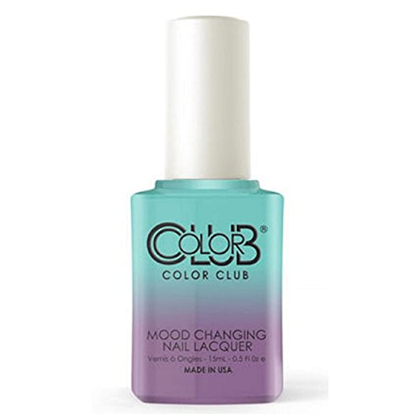 ボット資源極地Color Club Mood Changing Nail Lacquer - Serene Green - 15 mL / 0.5 fl oz