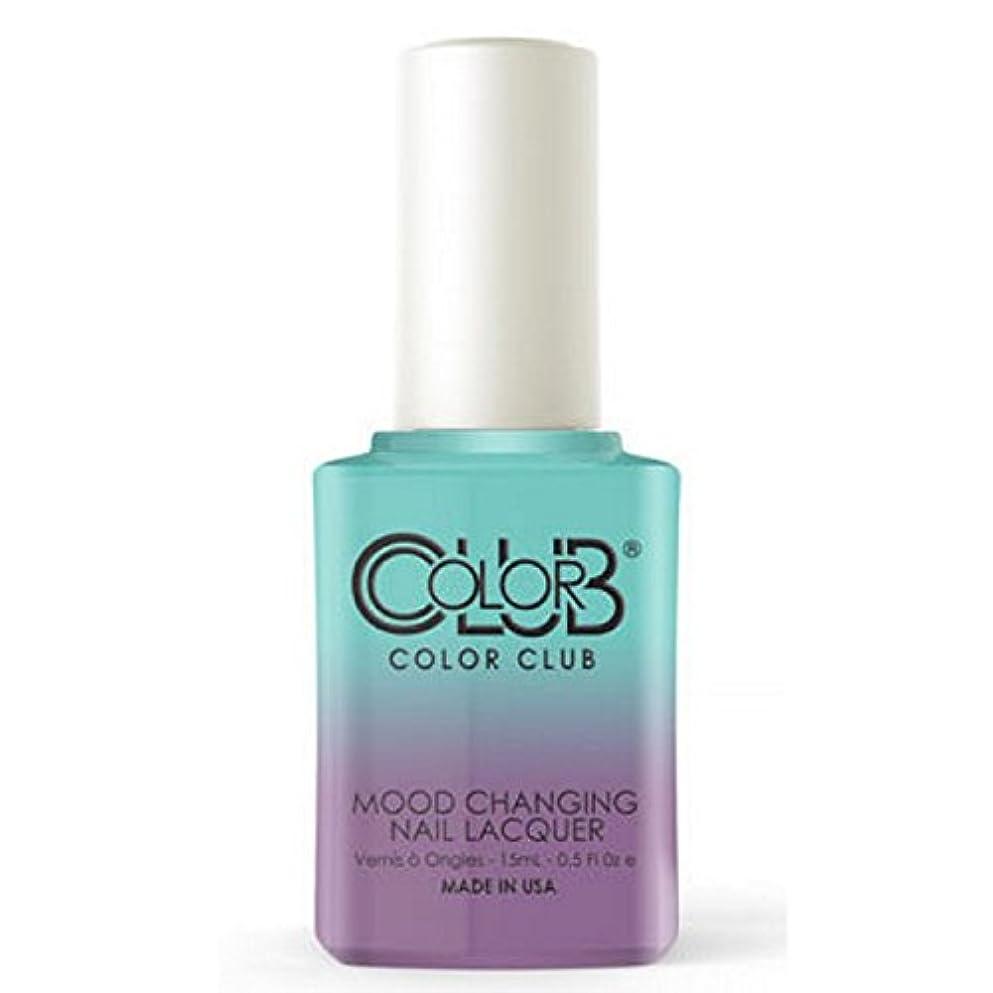 重要報復する請負業者Color Club Mood Changing Nail Lacquer - Serene Green - 15 mL / 0.5 fl oz