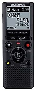 OLYMPUS ICレコーダー Voice-Trek VN-703PC ブラック 4GB+micro SDカードスロット VN-703PC