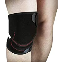 通気性の膝パッド、暖かいサイクリングを実行するフィットネスハイキングアウトドアスポーツのニーパッド (サイズ さいず : シングル)