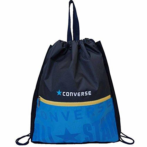 [CONVERSE]コンバース 子供用 プールバッグ ビーチバッグ スイムバッグ ナップサック型 男の子 fo-crf04 ブルー
