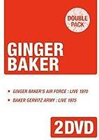 「ジンジャーベイカーズ・エアフォース1970」+「ベイカー・カーヴィッツ・アーミー1975」《ダブルパック・シリーズ》 [DVD]