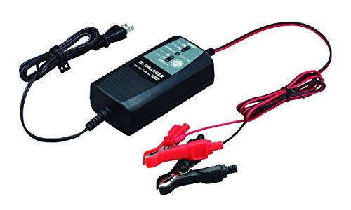 セルスター バッテリー充電器 DRC-200 フロート充電対応 2WAY充電コード(クリップ&丸端子) DC12V専用 バイ...