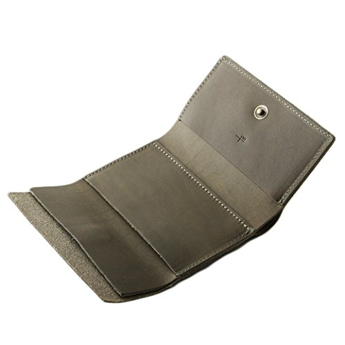 エムピウ ストラッチョ straccio コンパクト財布 三つ折り財布 リスシオ ブッテーロ 財布 m+ グリージョ