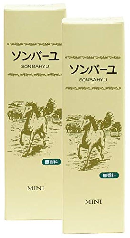 レタッチ突然の学生薬師堂 ソンバーユミニ 無香料 30ml×2個