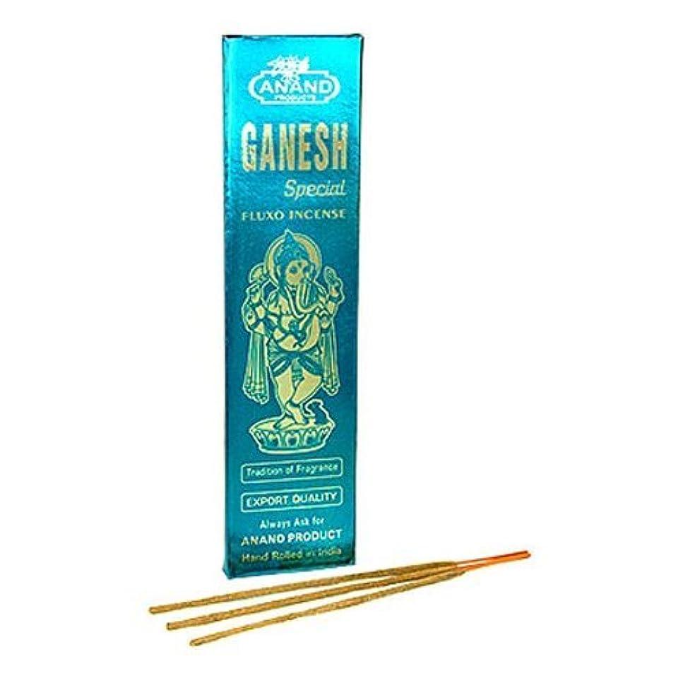 慣れる重々しい温度Ganesh特別なfluxo incense – 5パック、25グラム1パック