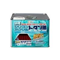 水性シリコンアクリルトタン用 こげ茶 7L【代引不可】 [簡易パッケージ品]