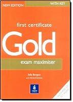 FIRST CERTIFICATE GOLD EXAM MAXIMI : W/KEY & CD(2)