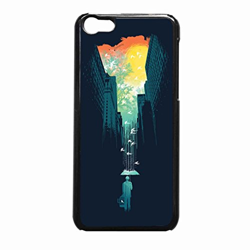 私は私の青空を望んでいますSociety6 Case / Color Black Plastic / Device iPhone 5c