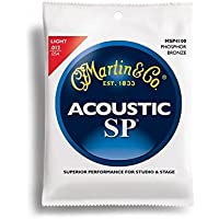 Martin アコースティックギター弦 SP ACOUSTIC (92/8 Phospher Bronze) MSP-4100 Light .012-.054