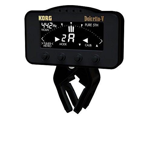 KORG クリップ式チューナー/メトロノーム Dolcetto-V ドルチェットV バイオリン/ビオラ専用 AW-3V