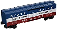 Williams by Bachmann State of Maine Bangor and Aroostook O Scaleスケール40'ボックスCar
