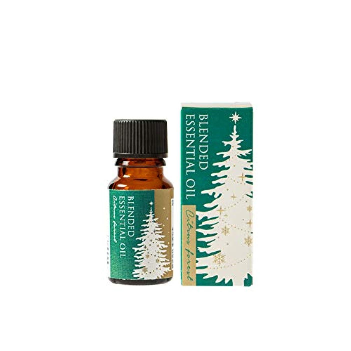 気楽なあいさつ明るくする生活の木 ブレンド精油 シトラスフォレスト 10ml