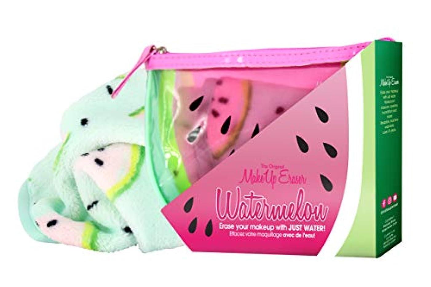 バランスオフセット敵対的MAKE UP ERASER メイクアップイレイサー 化粧落としタオル Watermelon