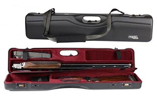 Negrini Ou/SXS超コンパクトSporter Shotgunケース、ブラック/ボルドー、l35.125in X w7in X 16407lr/5642