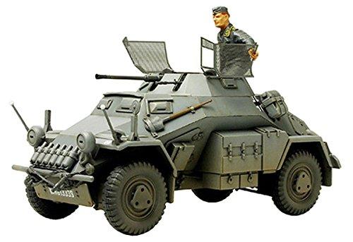タミヤ 1/35 ミリタリーミニチュアシリーズ No.270 ドイツ陸軍 4輪装甲車偵察車 Sd.Kfz.222 エッチングパーツ付 プラモデル 35270