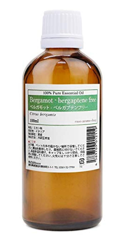 浸透する促す懐疑論ease アロマオイル エッセンシャルオイル ベルガモット ベルガプテンフリー 100ml AEAJ認定精油