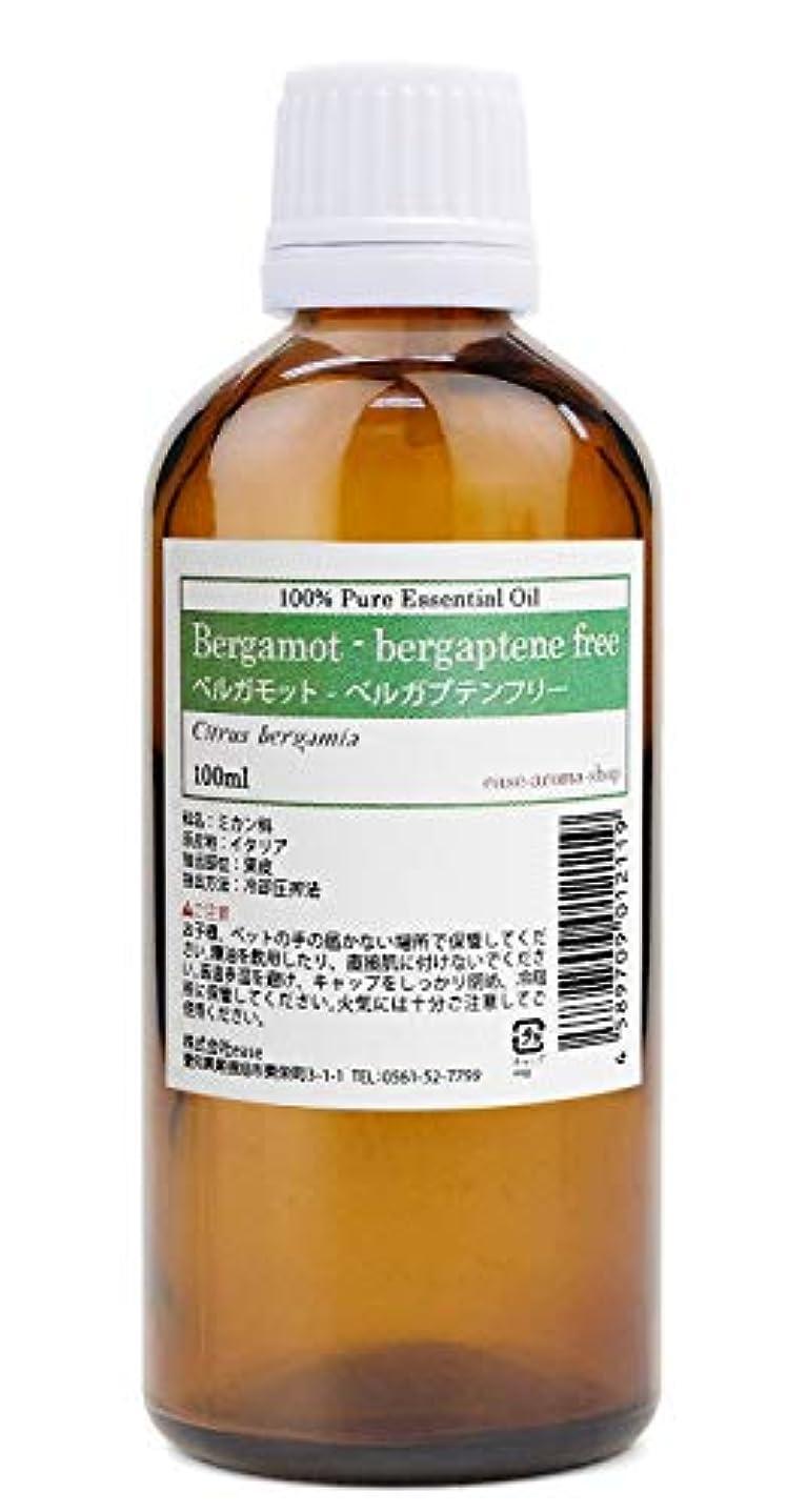遅いコンパニオン偽物ease アロマオイル エッセンシャルオイル ベルガモット ベルガプテンフリー 100ml AEAJ認定精油