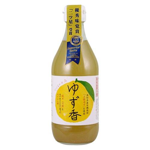 自然な香りを贅沢に楽しめる こだわりの万能ゆずポン酢 「心の酢 ゆず香」 360ml (単品)