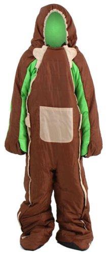 DOPPELGANGER OUTDOOR(ドッペルギャンガーアウトドア) ヒューマノイドスリーピングバッグ Brian 人型寝袋 [最低使用温度 5度] DS-07