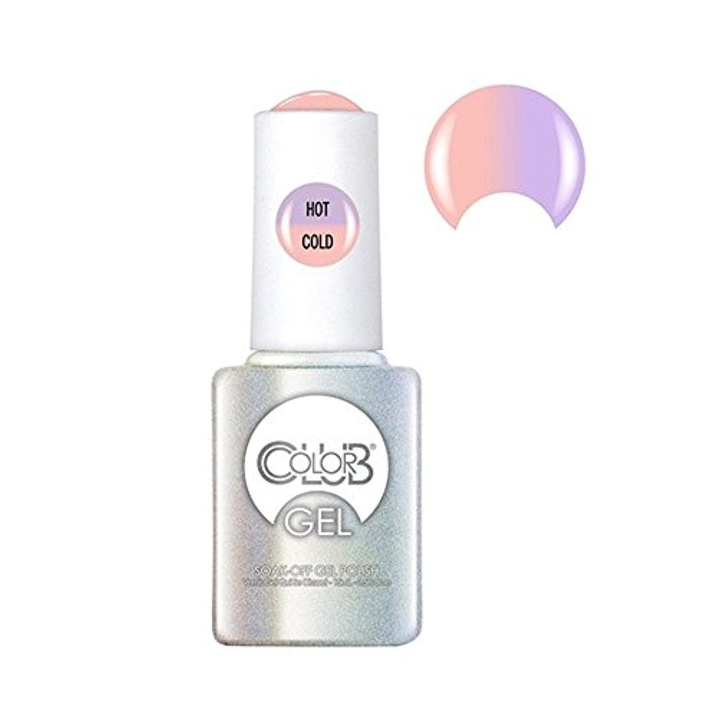 永久収入きらめくColor Club Gel Polish - Everything's Peachy - 0.5oz / 15ml