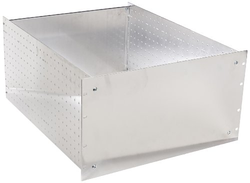 BUD Industries RM-14225 Aluminum Rackmount Chassis, 19 Width x 10-1/2 Height x 22 Depth, Natural Finish by BUD Industries
