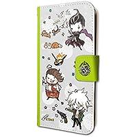 ダンガンロンパ1・2 Reload 04 ちりばめデザイン04(グラフアートデザイン) 手帳型スマホケース iPhone6/6S/7/8兼用
