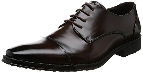 [AAA+ サンエープラス] 2671 ビジネスシューズ 防滑 ロングノーズ 革靴