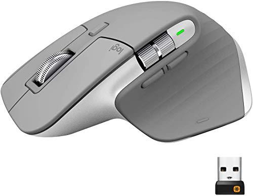 ロジクール アドバンスド ワイヤレスマウス MX Master 3  MX2200 ミッドグレイ 国内正規品 2年間無償保証