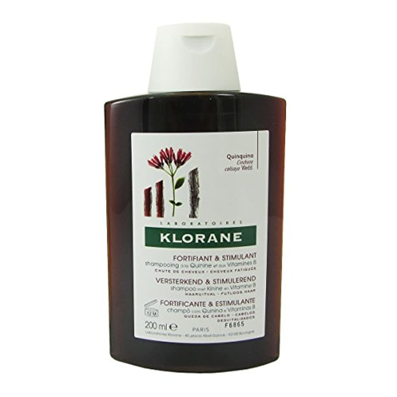 いじめっ子許容動Klorane Quinine Fortifying Shampoo 200ml [並行輸入品]