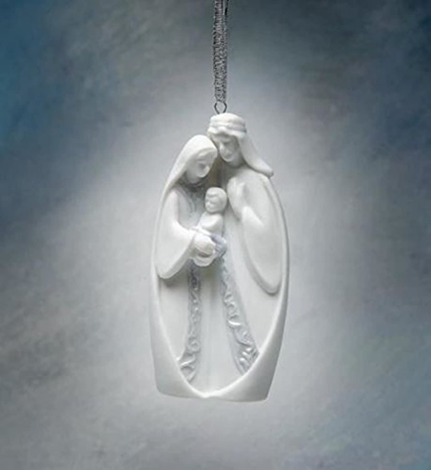 4.13 Inch Marry and Joseph Holding Baby Jesus Tree Ornament by ATD [並行輸入品]
