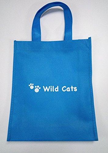 【Wild Cats】メンズ タンクトップ アンダーシャツ 英語 綿 バイカラー トップス 春 夏 ロングシーズン カジュアル オシャレ カッコいい エコバッグ付き