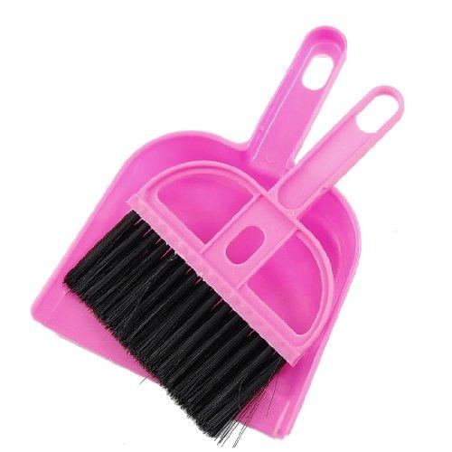 [해외]쓰레받기 세트 청소 미니 수염 빗자루 다스토�u 오피스 홈 자동차 다기능/Chiribet set cleaning mini whisker broom dust pen office home car multifunctional