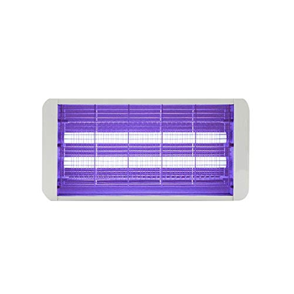 いつ芽メディアZEMIN 電撃殺虫灯 蚊ランプ 昆虫のキラー 誘虫灯 フライト ラップ 紫外線 世帯 忌避剤 キャッチハエ、 4サイズ (色 : 白, サイズ さいず : 500MM-6W)