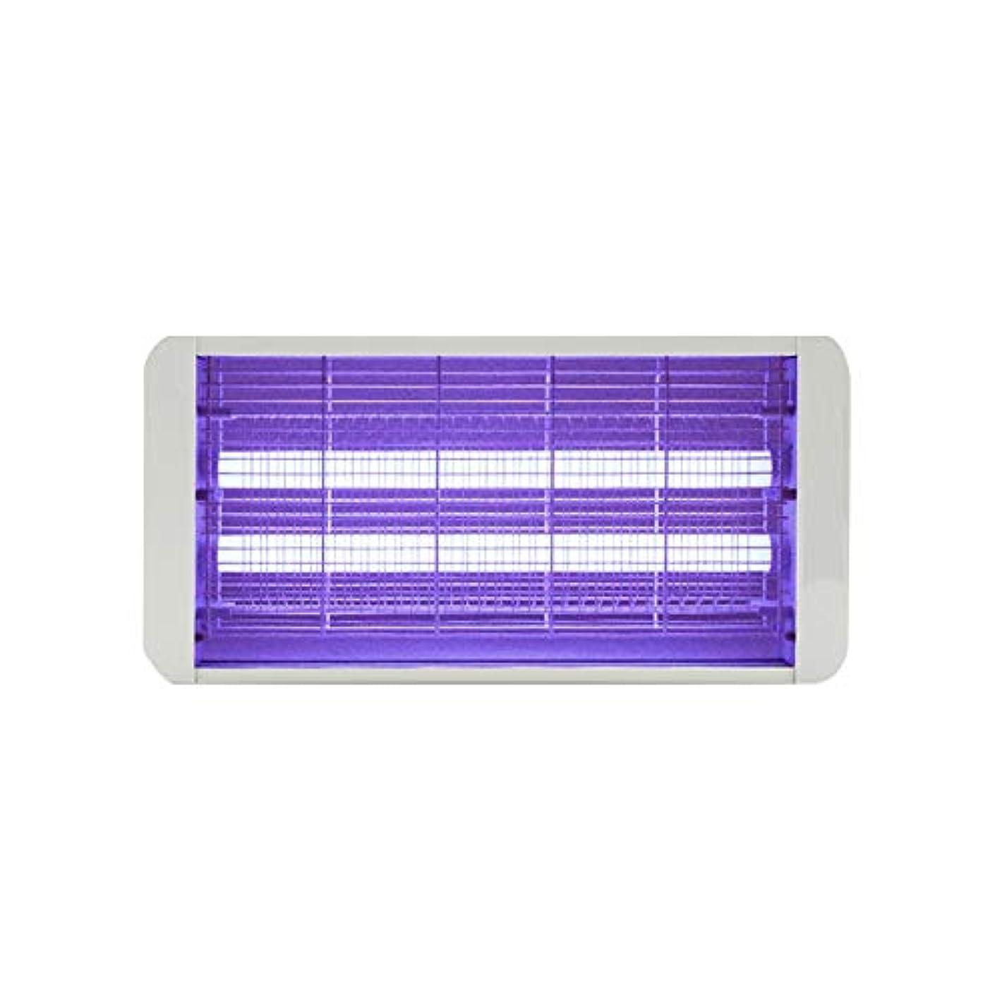ボルトけん引雨のZEMIN 電撃殺虫灯 蚊ランプ 昆虫のキラー 誘虫灯 フライト ラップ 紫外線 世帯 忌避剤 キャッチハエ、 4サイズ (色 : 白, サイズ さいず : 500MM-6W)