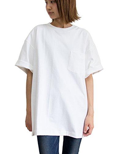 CAMBER(キャンバー) 8oz MAX WEIGHT ポケット付きTシャツ 302 (Mサイズ, ホワイト)
