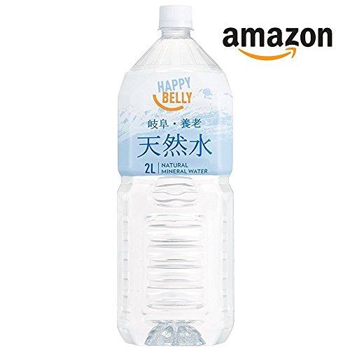 【Amazonオリジナル】[2CS] Happy Belly天然水 岐阜・養老  (2L×6本) ×2箱