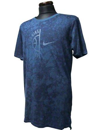 (ナイキ) Nike ウェア Tシャツ Swoosh Arch S/S Tee S.Blu バスケットボール ランニング トレーニング XL