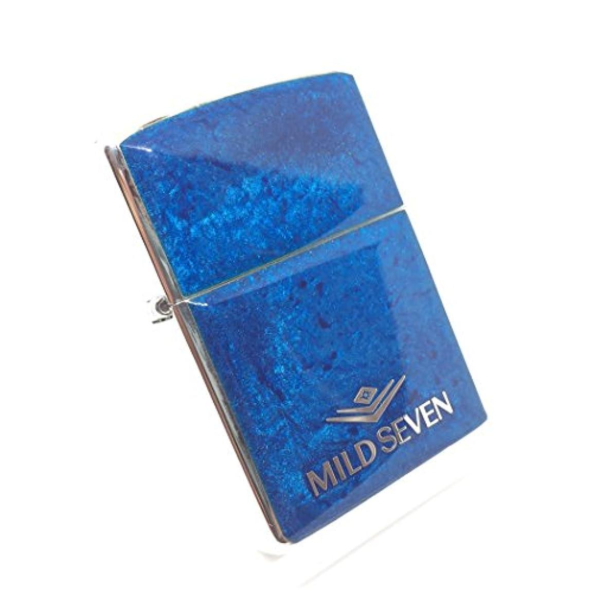 バッグバラエティ顕著DEEP BLUE ZIPPO MILD SEVEN マイルドセブン 1998 限定生産