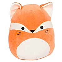 (James the Orange) - Kellytoy Squishmallow 33cm Fox Super Soft Plush Toy Pillow Animal Pet Pal Buddy (James The Orange)
