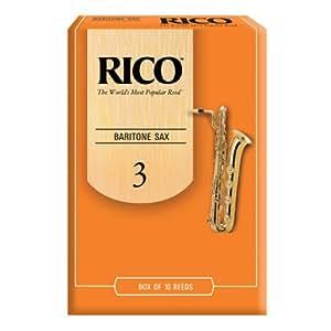 RICO リード バリトンサクソフォーン 強度:3(10枚入)アンファイルド RLA1030