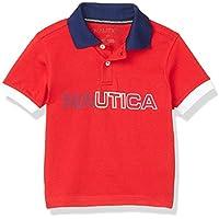Nautica Boys' Short Sleeve Novelty Polo
