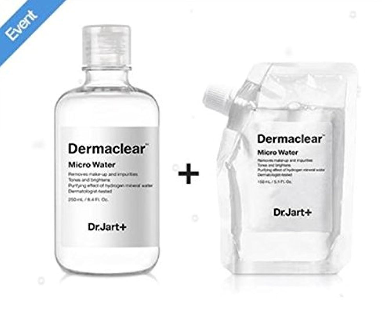吸収剤オピエート外交ドクタージャルト[韓国コスメ Dr.Jart+]ダーマクリア マイクロ ウォーター250ml+150ml(リフィル) [korean cosmetic Dr.Jart+]Dermaclear Micro Water (250ml...