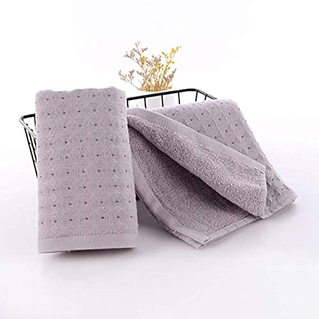 国籍チューリップ養う綿のハンドタオルの速い乾燥したタオルの速い乾燥したタオル,Gray,34*75cm