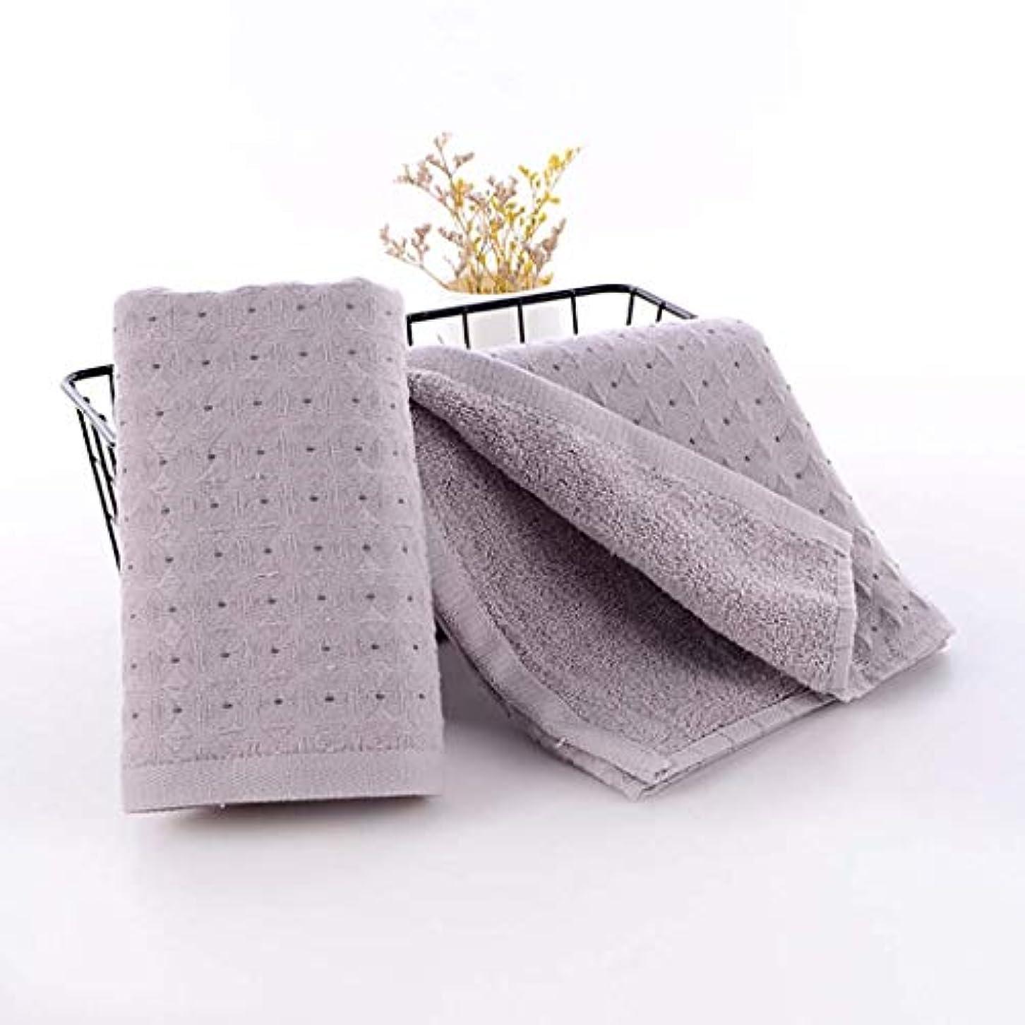 冷淡な傾く中世の綿のハンドタオルの速い乾燥したタオルの速い乾燥したタオル,Gray,34*75cm